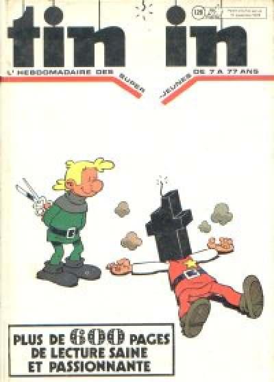 Couverture de (Recueil) Tintin (Album du journal - Édition belge) -126- Tome 126