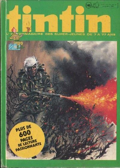 Couverture de (Recueil) Tintin (Album du journal - Édition belge) -146- Tome 146