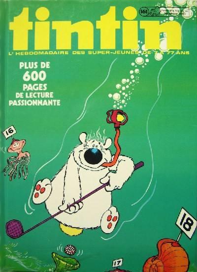 Couverture de (Recueil) Tintin (Album du journal - Édition belge) -161- Tome 161