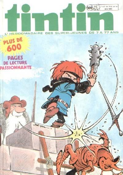Couverture de (Recueil) Tintin (Album du journal - Édition belge) -169- Tome 169