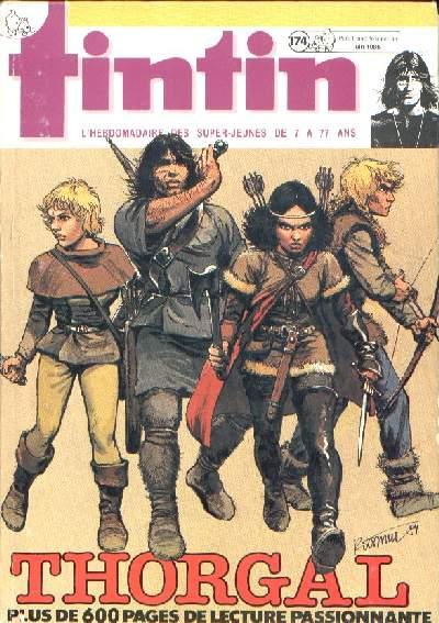 Couverture de (Recueil) Tintin (Album du journal - Édition belge) -174- Tome 174