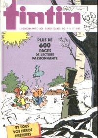 Couverture de (Recueil) Tintin (Album du journal - Édition belge) -183- Tome 183