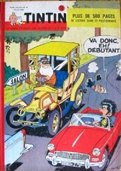 Couverture de (Recueil) Tintin (Album du journal - Édition belge) -72- Tome 72