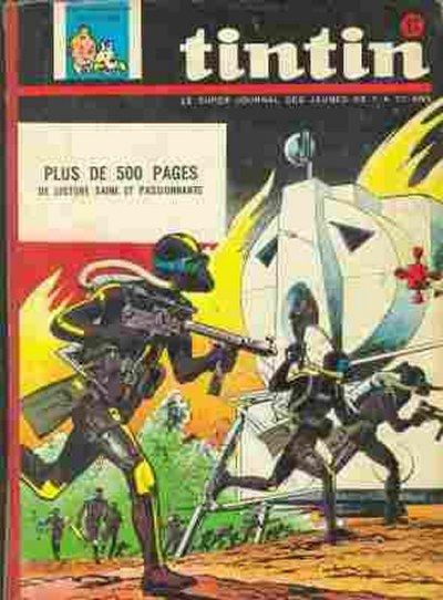 Couverture de (Recueil) Tintin (Album du journal - Édition belge) -81- Tome 81