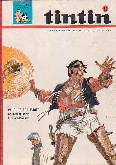 Couverture de (Recueil) Tintin (Album du journal - Édition belge) -86- Tome 86