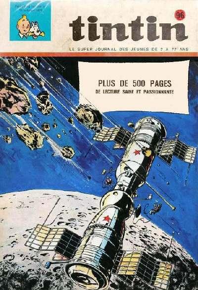 Couverture de (Recueil) Tintin (Album du journal - Édition belge) -96- Tome 96
