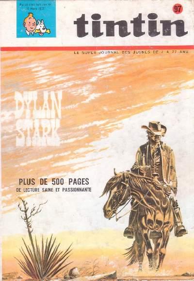 Couverture de (Recueil) Tintin (Album du journal - Édition belge) -97- Tome 97