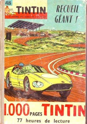 Couverture de (Recueil) Tintin (Album du journal - Édition française) -48- Tintin album du journal