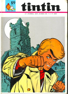 Couverture de (Recueil) Tintin (Album du journal - Édition française) -89- Tintin album du journal