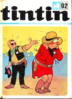 Couverture de (Recueil) Tintin (Album du journal - Édition française) -92- Tintin album du journal