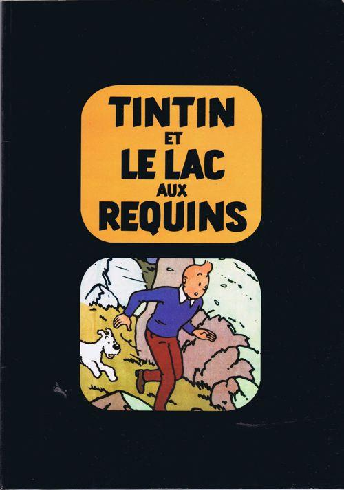 Couverture de Tintin - Pastiches, parodies & pirates -26- Tintin et le lac aux requins