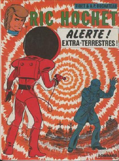 Couverture de Ric Hochet -22- Alerte ! Extra-terrestres !