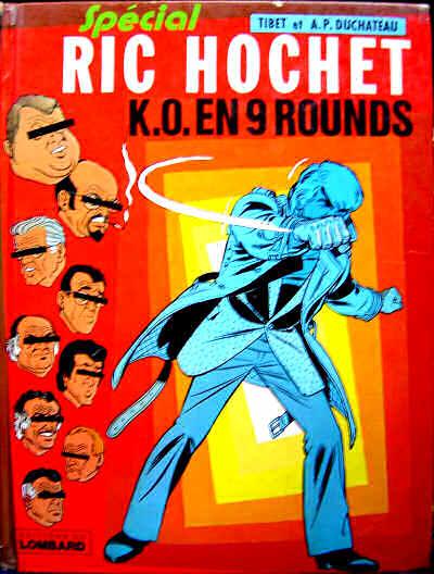 Couverture de Ric Hochet -31- K.O. en 9 rounds
