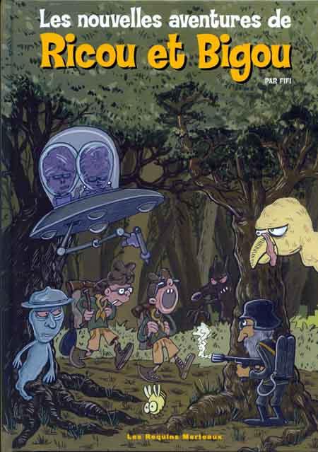 Couverture de Ricou et Bigou -2- Les nouvelles aventures de Ricou et Bigou
