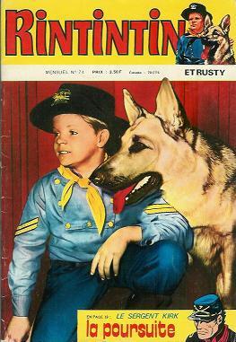 Couverture de Rin Tin Tin & Rusty (2e série) -74- Rintintin n°74