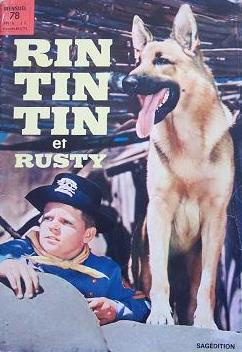 Couverture de Rin Tin Tin & Rusty (2e série) -78- Rintintin n°78