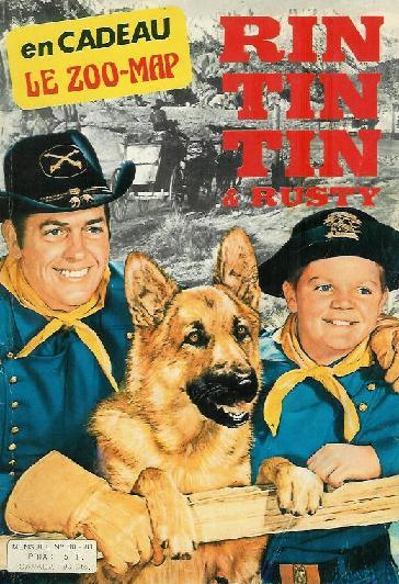 Couverture de Rin Tin Tin & Rusty (2e série) -80/81- Rintintin n°80-81