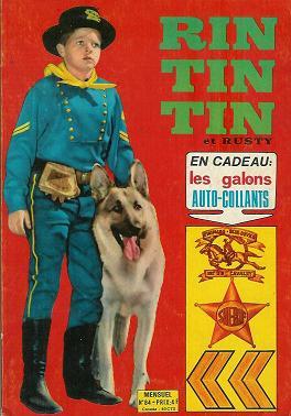 Couverture de Rin Tin Tin & Rusty (2e série) -84- Rintintin n°84