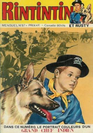 Couverture de Rin Tin Tin & Rusty (2e série) -87- Rintintin n°87