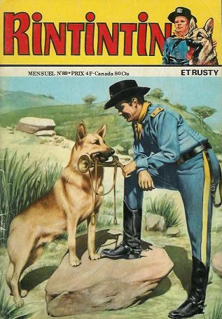Couverture de Rin Tin Tin & Rusty (2e série) -89- Rintintin n°89