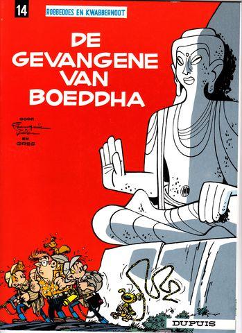 Couverture de Robbedoes en Kwabbernoot -14- De gevangene van boeddha