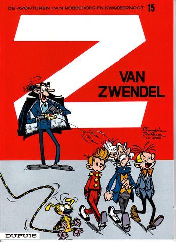 Couverture de Robbedoes en Kwabbernoot -15- Z van zwendel