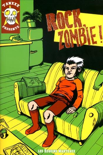 Couverture de Rock, zombie !
