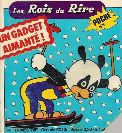 Couverture de Les rois du rire -8- Tib aux sports d'hiver