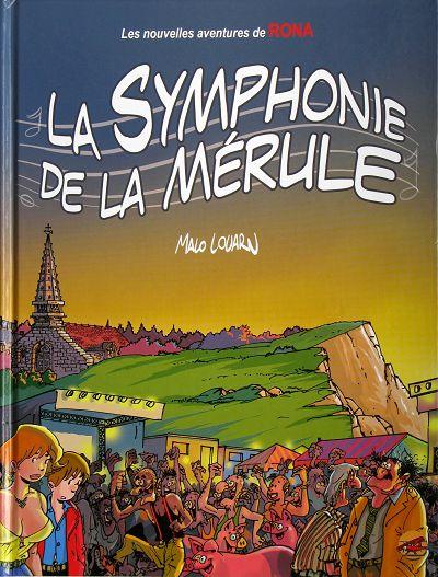 Couverture de Rona -7- La symphonie de la Mérule