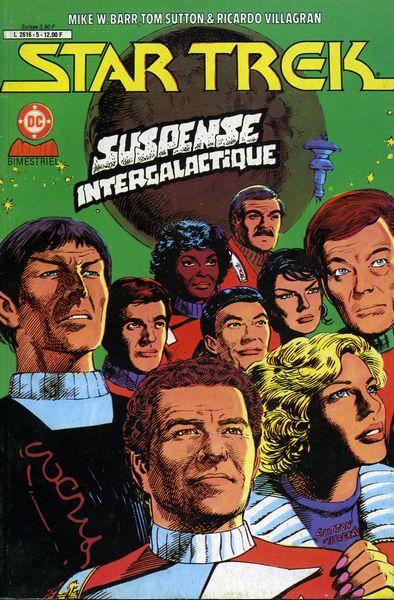 Couverture de Star Trek (Aredit) -5- Suspense intergalactique