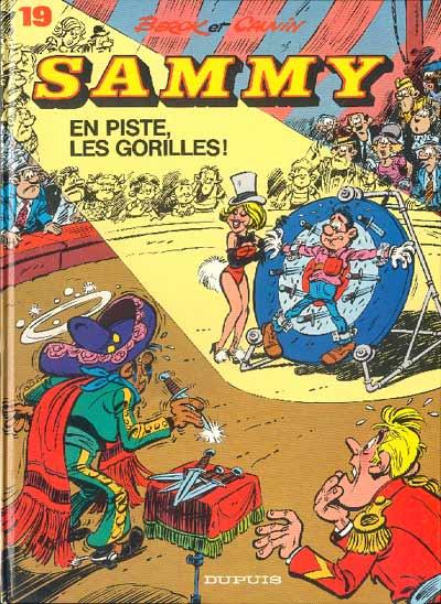 Couverture de Sammy -19- En piste, les Gorilles !