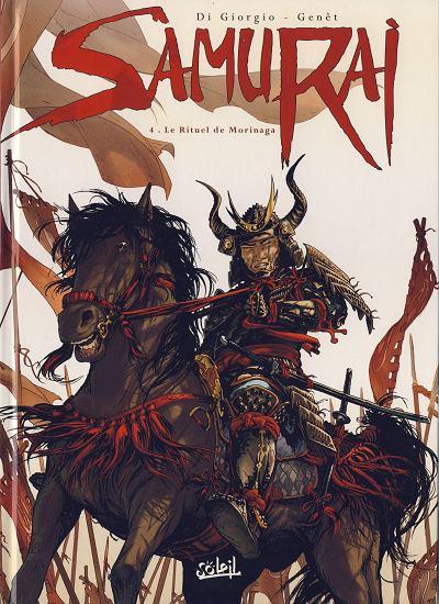 Couverture de Samurai -4- Le rituel de Morinaga