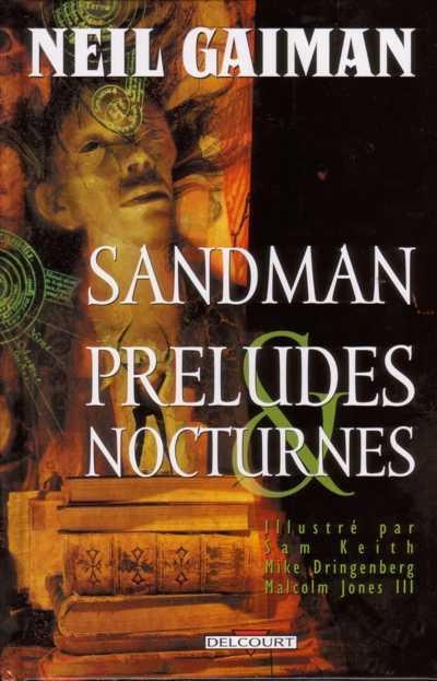 Couverture de Sandman -1- Préludes & Nocturnes
