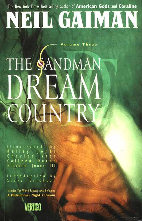 Couverture de Sandman (The) (1989) -INT03- Dream country
