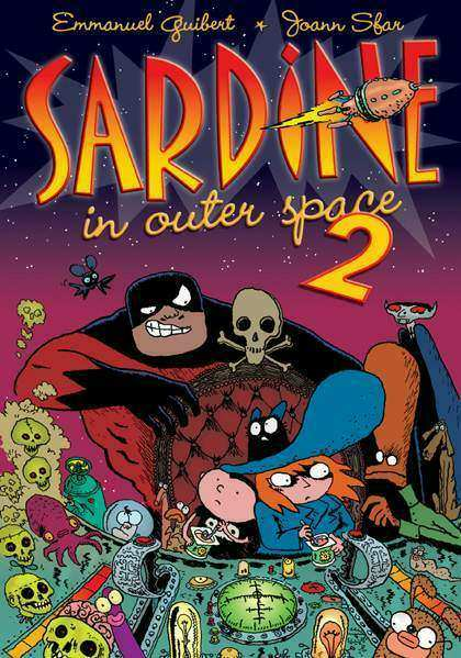 Couverture de Sardine in outer space -2- Issues 3 to 4