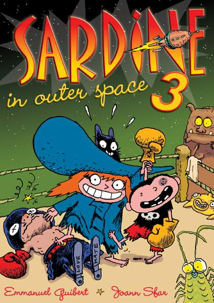 Couverture de Sardine in outer space -3- Issues 5 to 6
