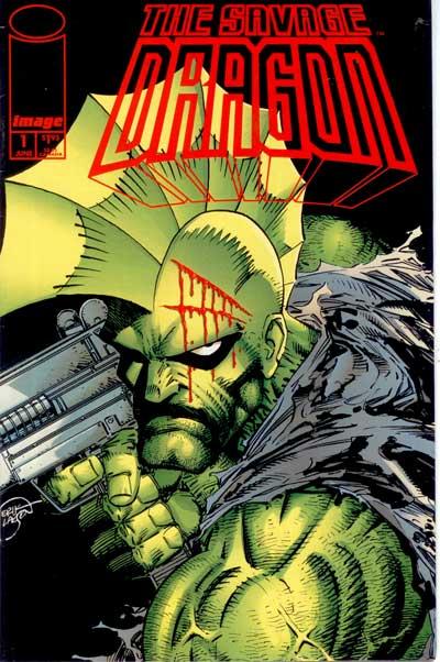 Couverture de Savage Dragon Vol.2 (The) (Image comics - 1993) -1- Issue 1