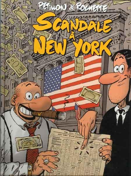 Couverture de Panique à Londres - Dico & Charles -2- Scandale à New York