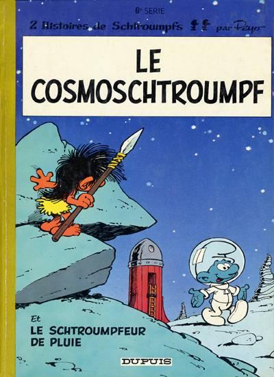Couverture de Les schtroumpfs -6- Le cosmoschtroumpf