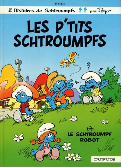 Couverture de Les schtroumpfs -13- Les p'tits Schtroumpfs