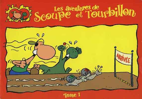 Couverture de Scoupe et Tourbillon (Les aventures de) - Tome 1