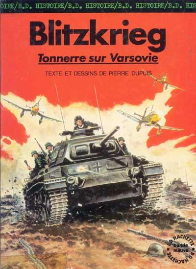 Couverture de La seconde guerre mondiale - Histoire B.D. / Bande mauve -1- Blitzkrieg - Tonnerre sur Varsovie