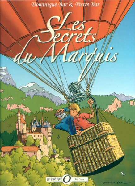 Couverture de Les aventures de Christian Persil - Les Secrets du Marquis