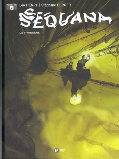 Couverture de Sequana -2- Le Pyrogène