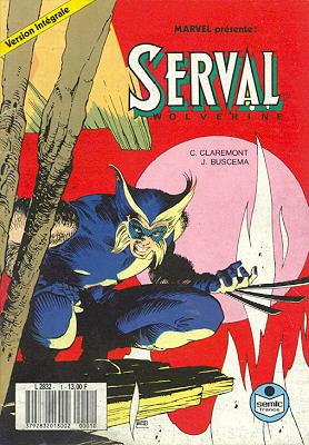 marvel comics serval