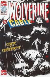 Couverture de Wolverine (Marvel France 1re série) (1997) -51- Crime et châtiment