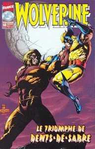 Couverture de Wolverine (Marvel France 1re série) (1997) -68- Le triomphe de Dents de sabre