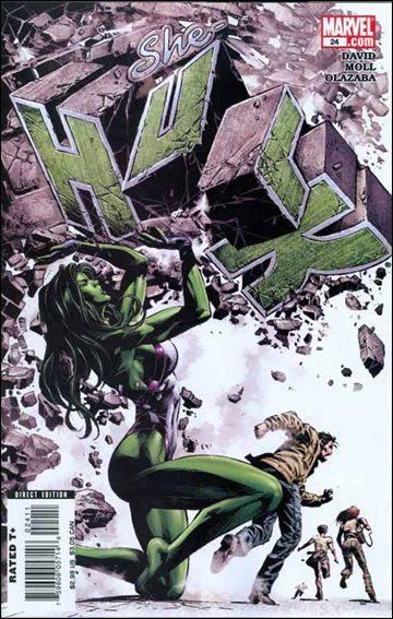 Couverture de She-Hulk (2005) -24- Jaded : episode 3