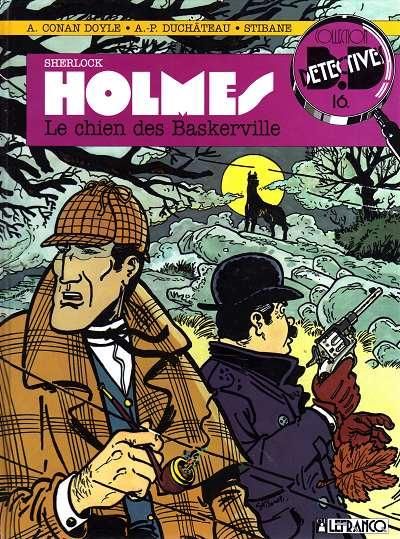 Couverture de Sherlock Holmes (CLE) -2- Le chien des Baskerville