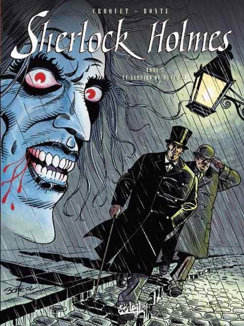 Sherlock Holmes (Bonte) Tome 5 : Le vampire de West-End